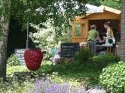 Das Erdbeer-Café